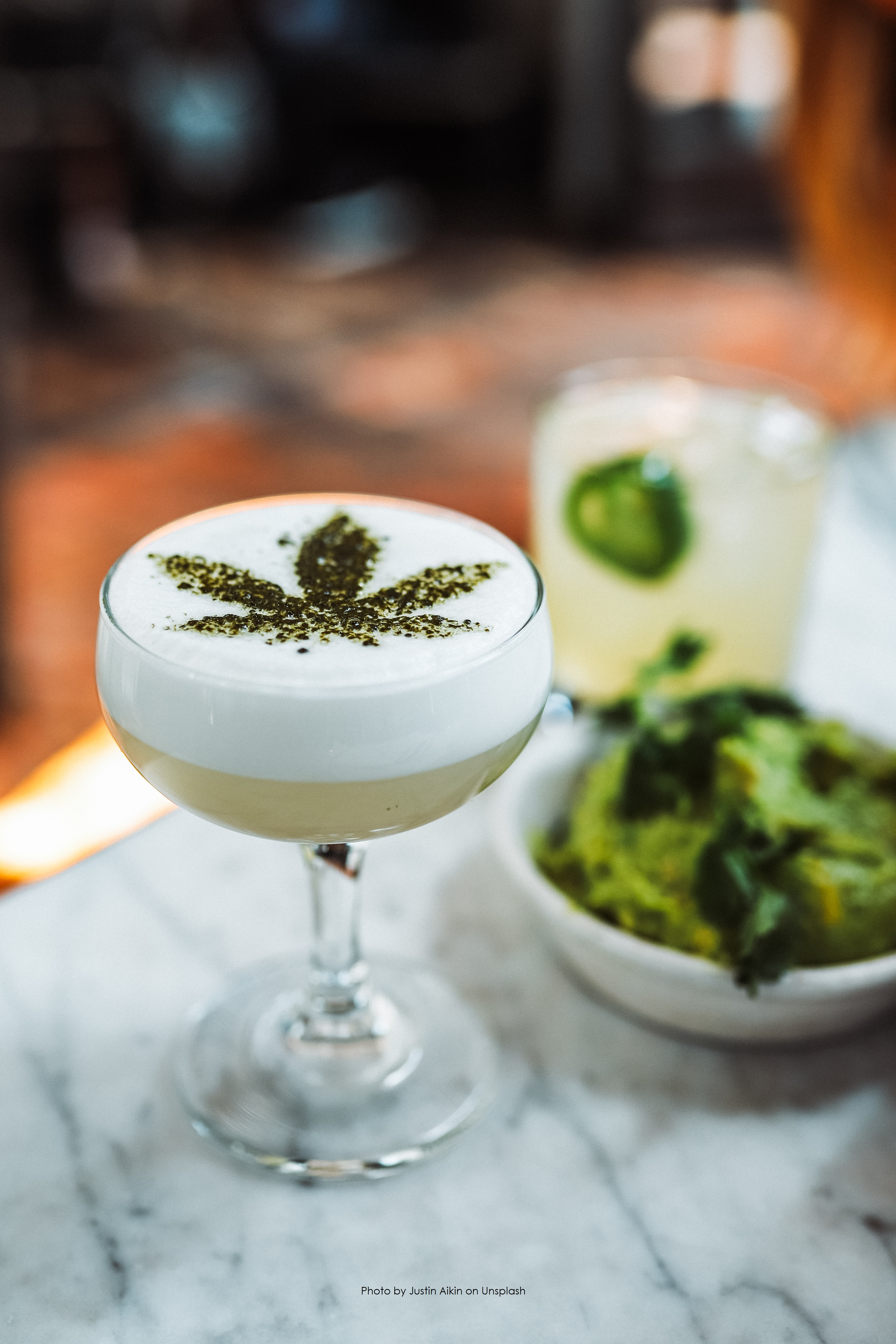 drink-with-cannabis-leaf-design