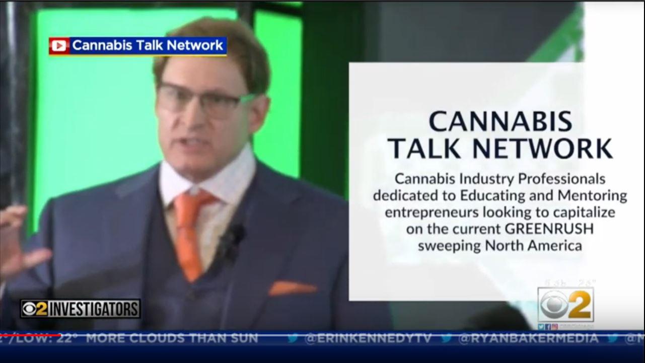 Cannabis Talk Network seminar scam report on CBS 2 Investigators