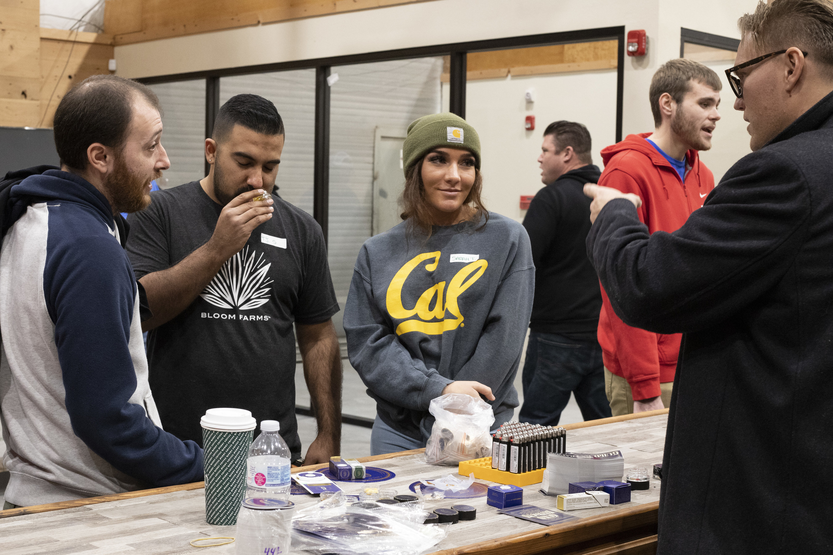 CoCo Farms hosts employee training with licensed cannabis vendors.