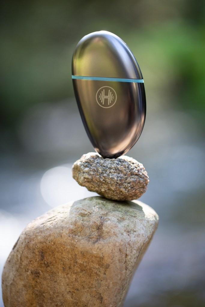 The Hanu Stone Vaporizer.