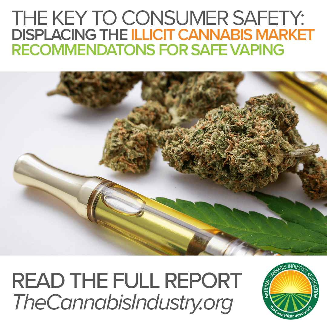 The Key to Consumer Safety: Displacing the Illicit Cannabis Market – Recommendations for Safe Vaping Report.