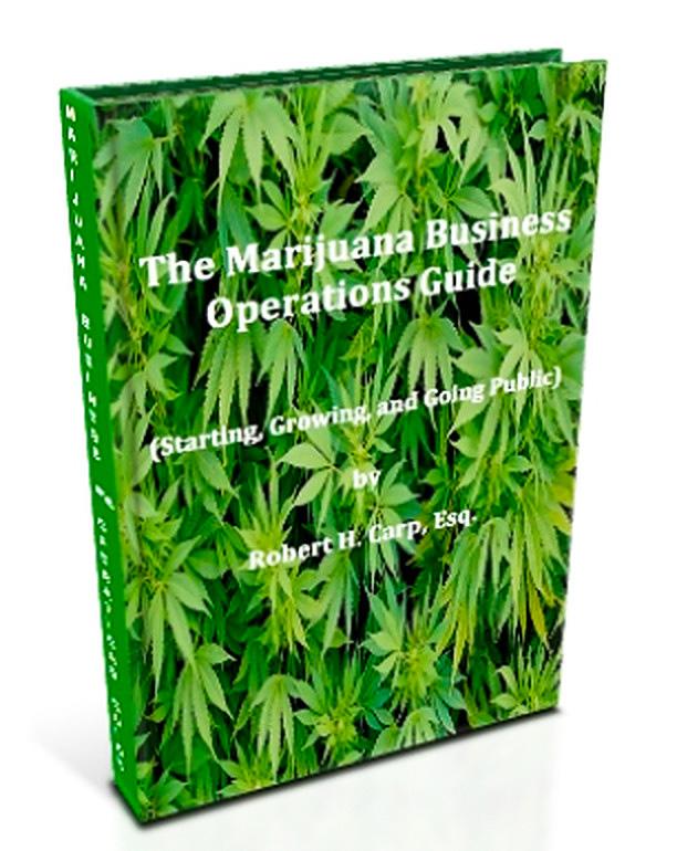 The Marijuana Business Operations Guide book.