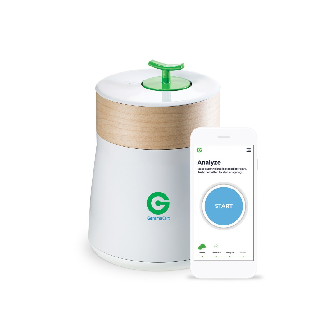 GemmaCert cannabis and hemp analyzer.
