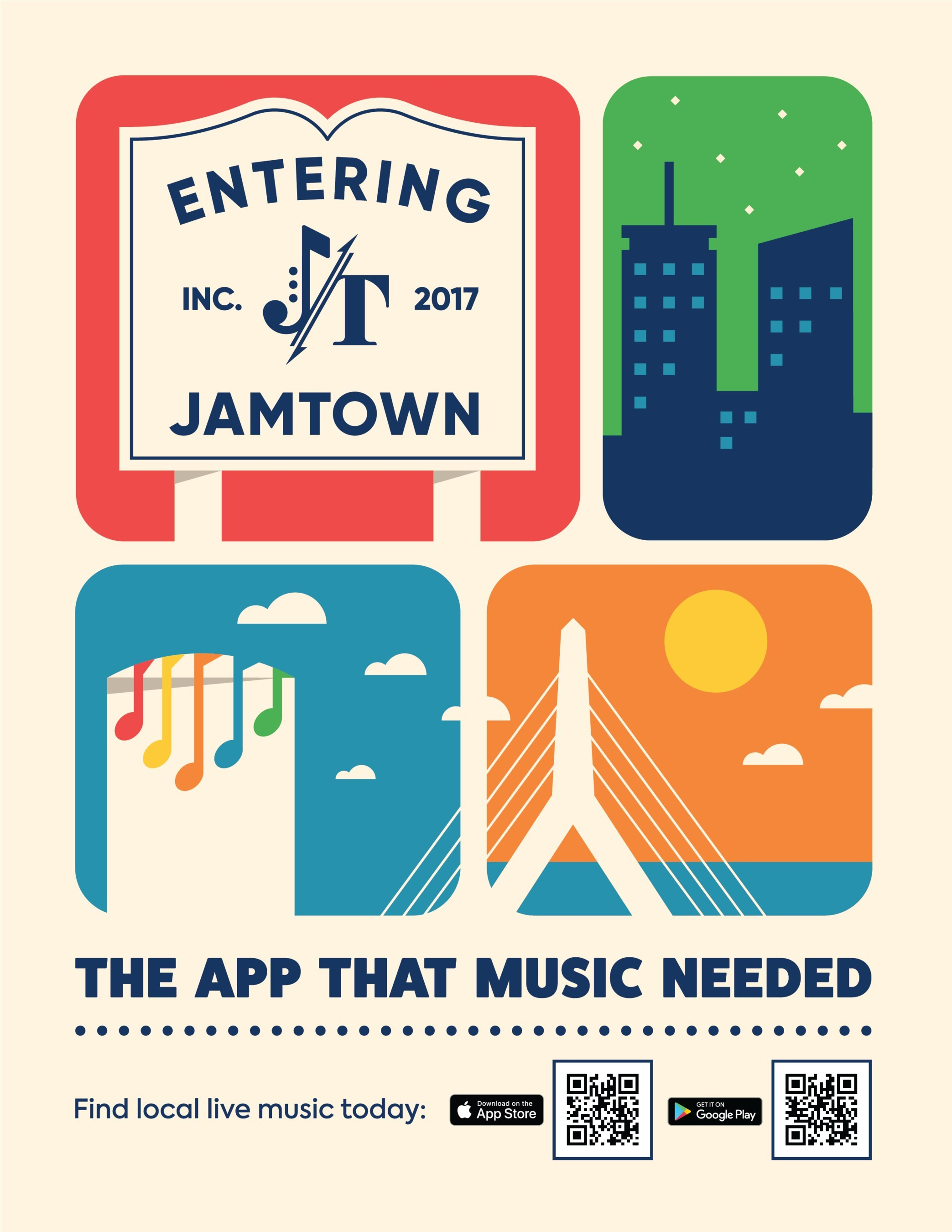JamTown Music Co. app